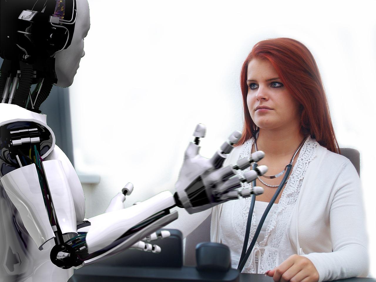 robot przeprowadzi rekrutację pracowników